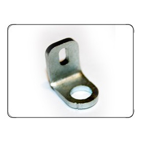 METAL PLATE SECURITY CABLE OF THE EXHAUST SILENCER